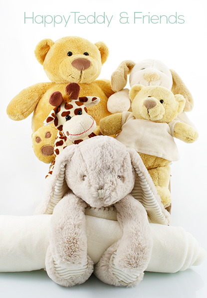 Happy Teddy and Friends