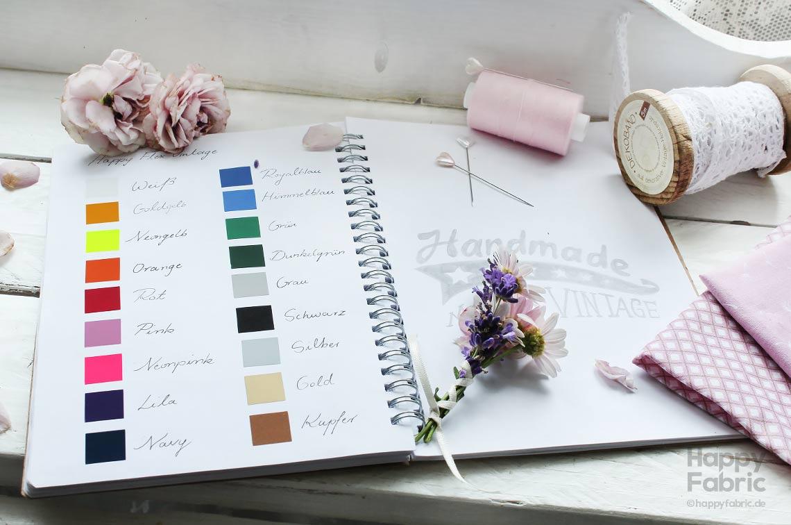 HappyFlex Vintage Farben