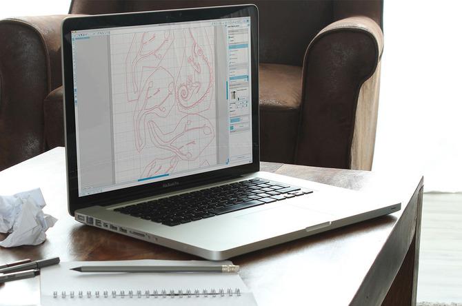 Materialien im Silhouette Studio hinzufügen